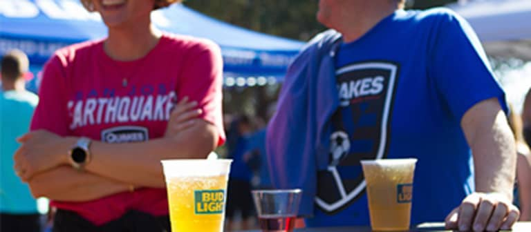 FEATURE: Quakes Announce Bud Light Devotion Deck at Stanford -