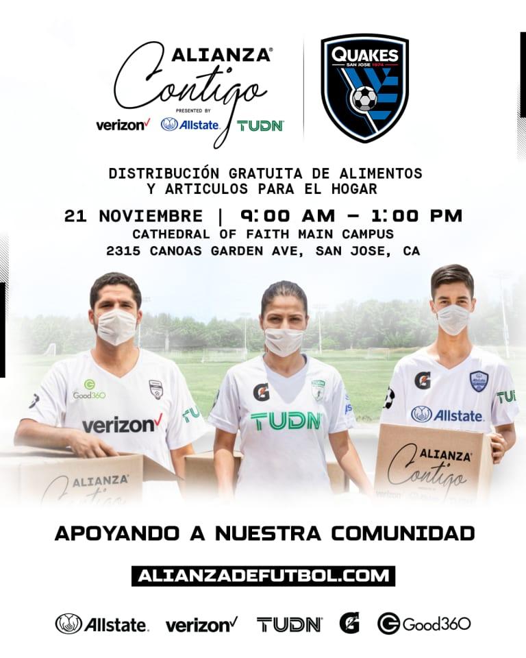 COMMUNITY: Alianza de Futbol Launches Alianza Contigo to Support the Hispanic Community in San Jose -