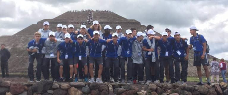 "ACADEMY: Paul Holocher, U16s enjoying ""life-changing"" Liga MX tournament in Mexico City -"