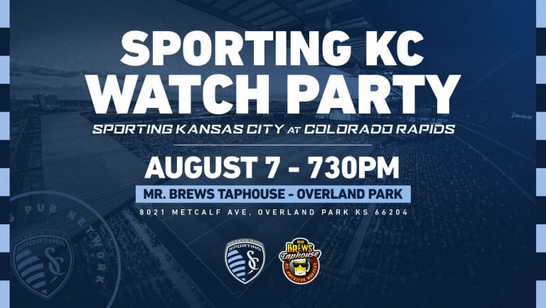 Sporting KC Watch Party - Aug. 7, 2021