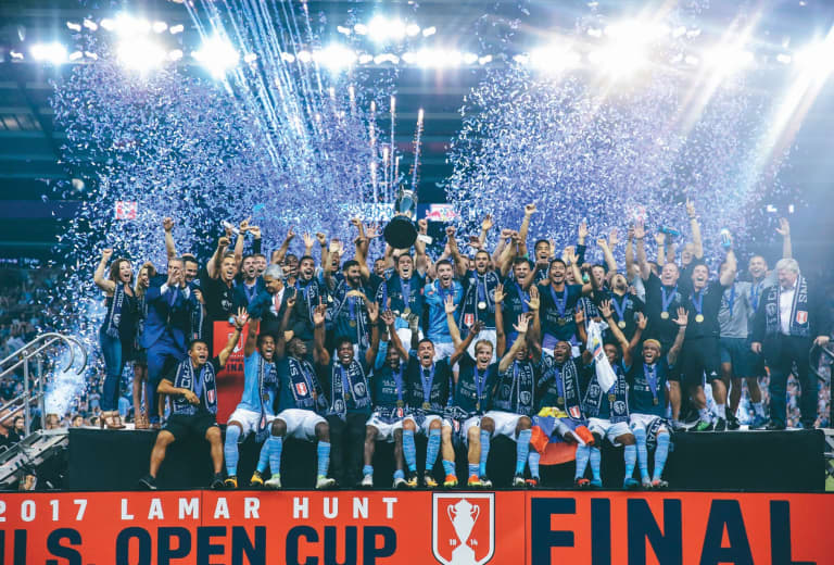 Sporting KC Brand History - 2017 US Open Cup Champions