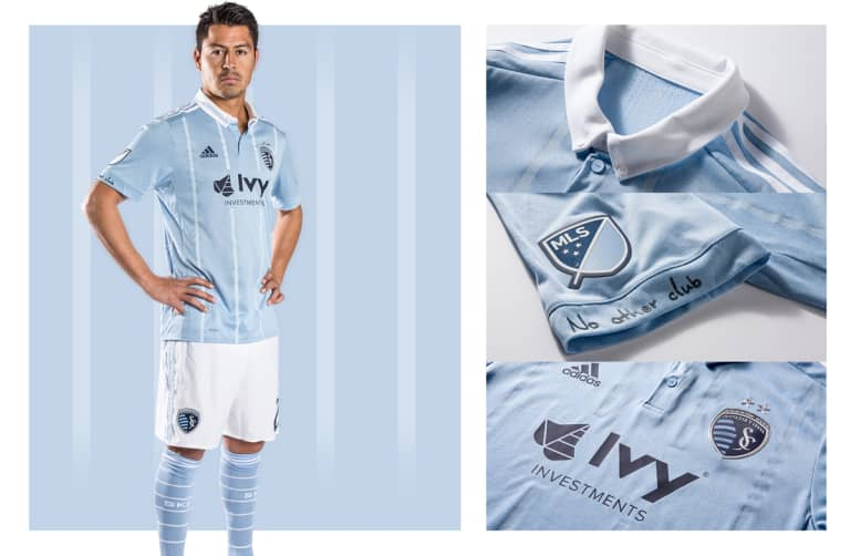 Sporting KC unveils new primary jersey for 2017 season -
