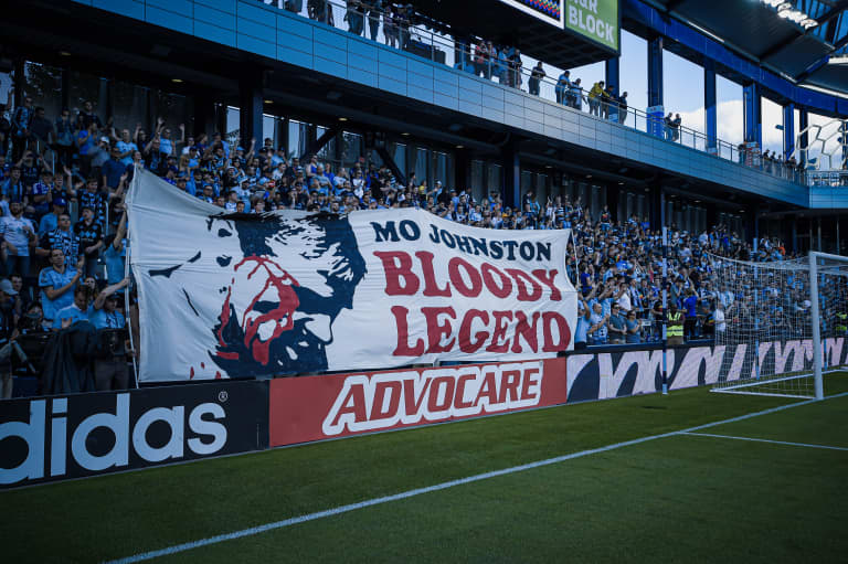 Photo gallery: The greatest tifos in Children's Mercy Park history -