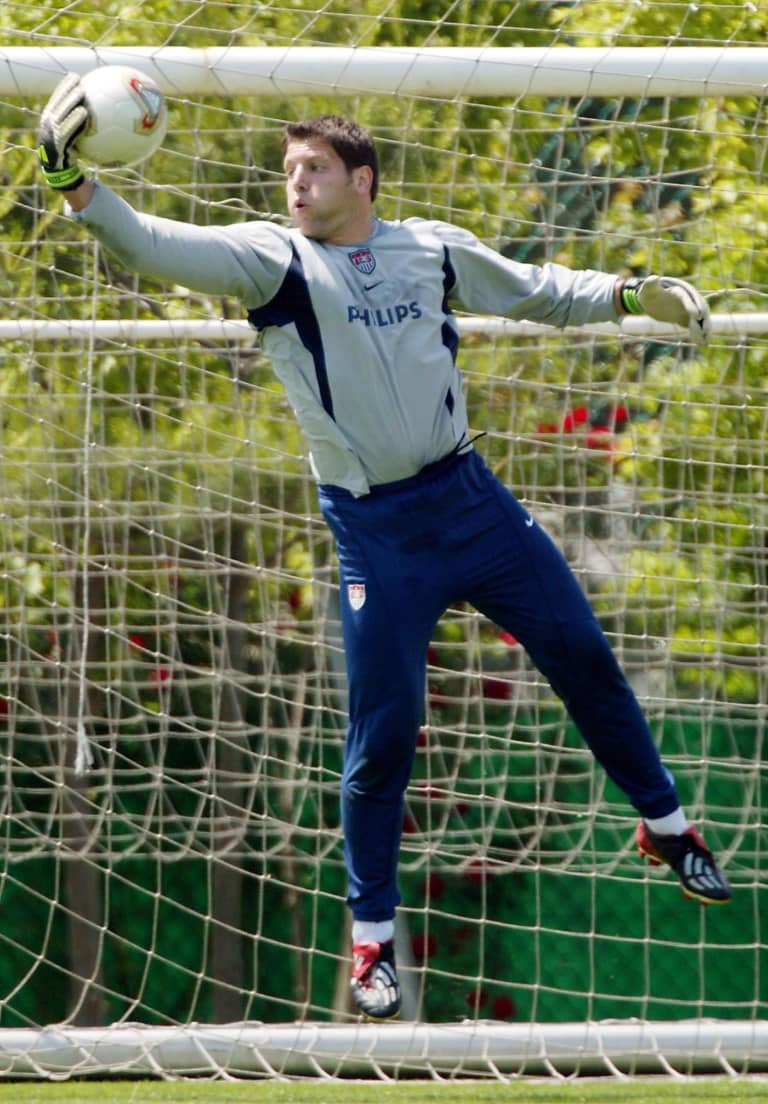 #TBT: Tony Meola at the 2002 World Cup -