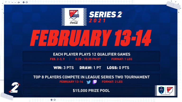 Alekzandur to conclude eMLS League Series Two qualifying on Tuesday -
