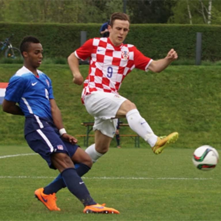 Erik Palmer-Brown starts for U.S. U-20's in 1-0 win over Croatia -