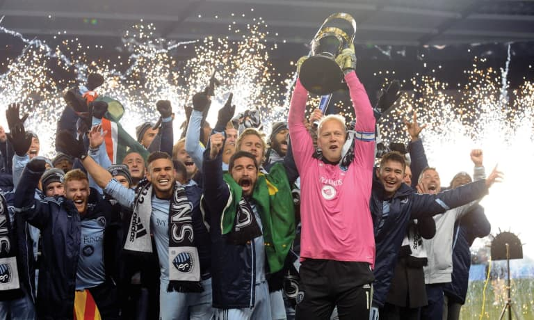 Sporting KC Brand History - 2013 MLS Cup Champions