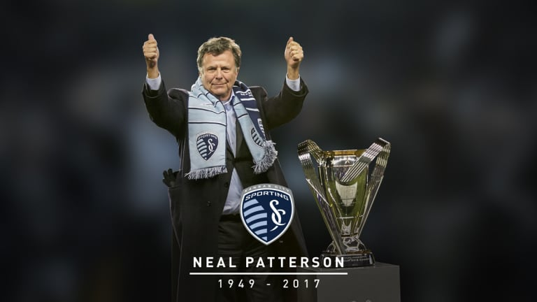 Sporting KC mourns the passing of co-owner  Neal Patterson, Chairman and CEO of Cerner -