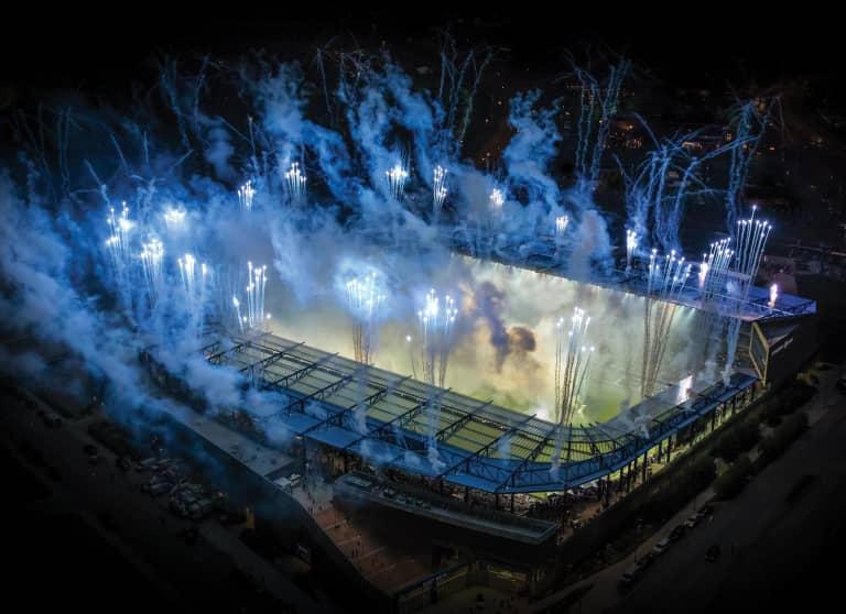 Sporting KC Brand History - All Star Fireworks