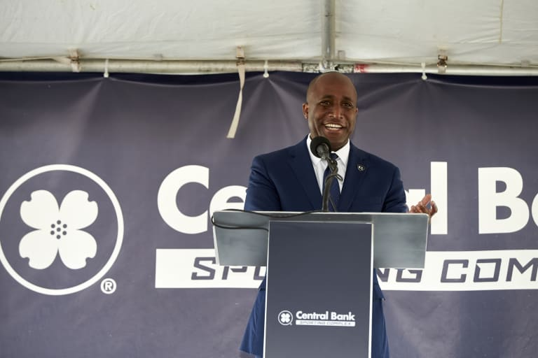 Sporting KC breaks ground on Central Bank Sporting Complex -