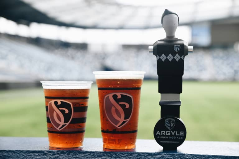 Sporting KC and Anheuser-Busch to launch Sporting Argyle Amber Ale at Children's Mercy Park on Saturday -