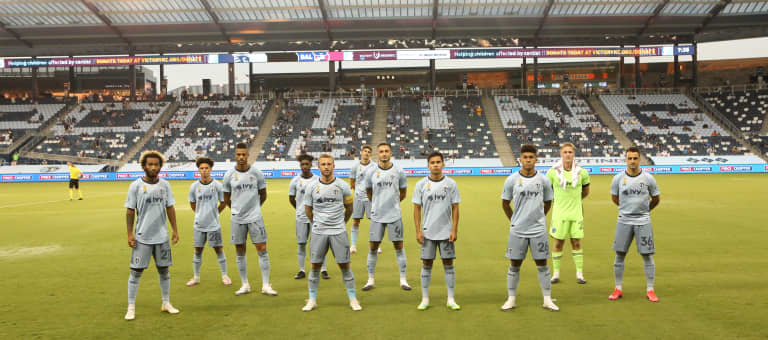 Play the kids: Sporting KC among league leaders in minutes for club's U20 players -