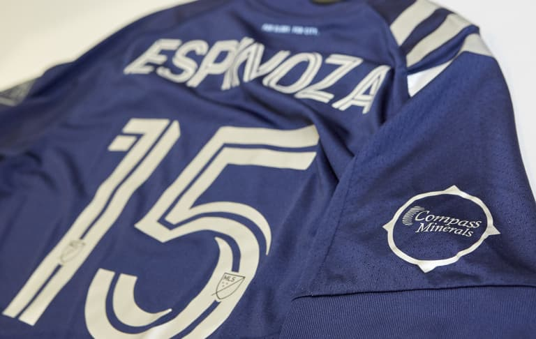 Sporting kits to feature Compass Minerals sleeve patch in new First Team partnership -
