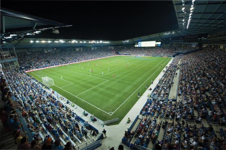 Sporting KC Brand History - CMP Opening Night