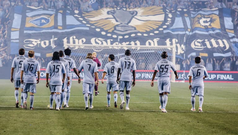 Sporting KC Brand History - For The Glory Of The city