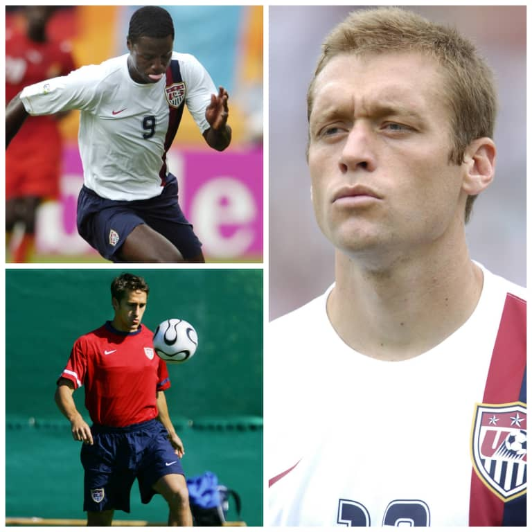 #TBT: Johnson, Conrad and Wolff at 2006 World Cup -