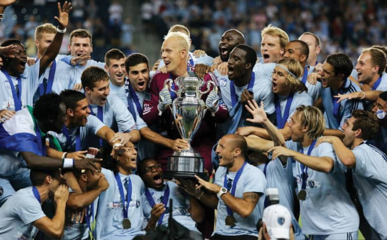 Sporting KC Brand History - 2012 US Open Cup hampions