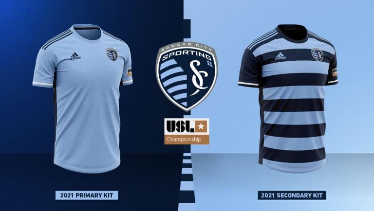 Sporting KC II unveils new jerseys for 2021 USL Championship season -
