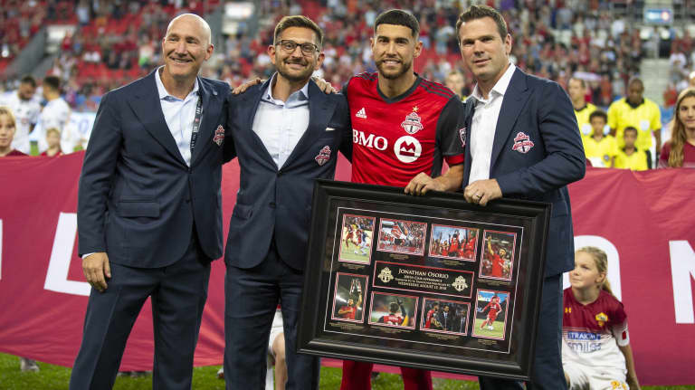 """Hometown hero Jonathan Osorio ready to realize """"new dream"""" after committing his future to Toronto FC -"""