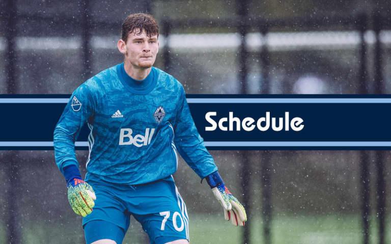 U-23 - Whitecaps FC U23 Schedule