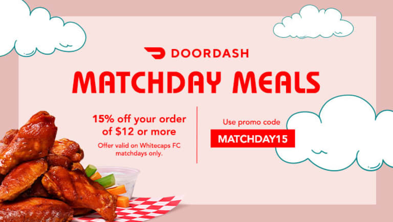 Matchday Meal, delivered by DoorDash -