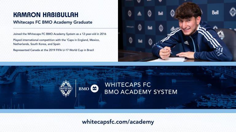 VWFC sign Habibullah to MLS Homegrown contract -