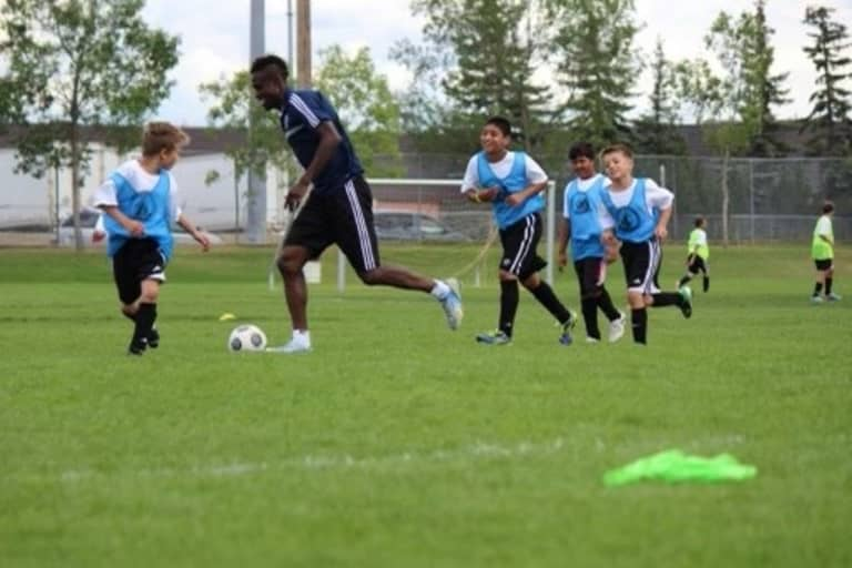 """""""Every time I walk into the stadium I get chills"""": Prince George youth inspired for the future -"""