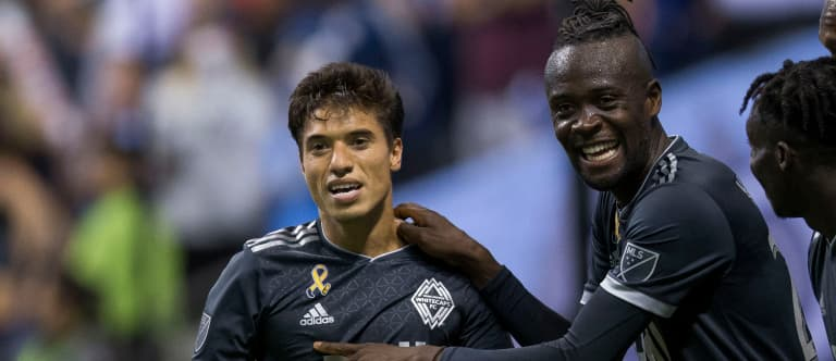 """Kei Kamara """"shocked"""" to leave Whitecaps, happy to be wanted by Rapids - https://league-mp7static.mlsdigital.net/images/mez%20and%20kei.jpg"""