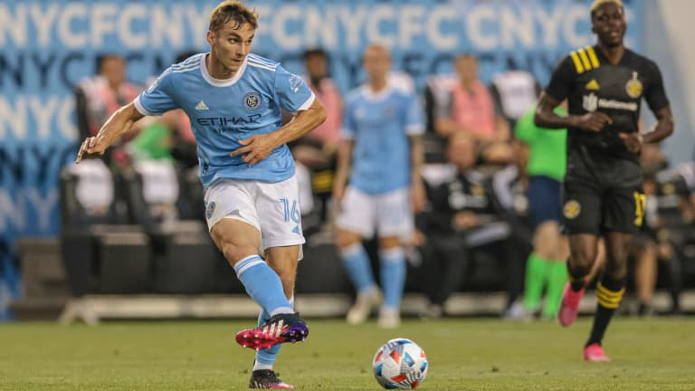 James Sands –NYCFC –passing