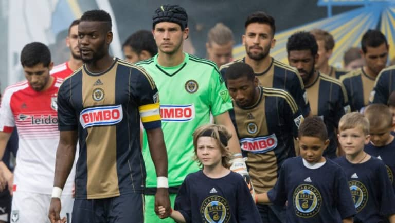 """Philadelphia Union's Maurice Edu determined to lead 2016 revival: """"It starts here. It starts now."""" -"""