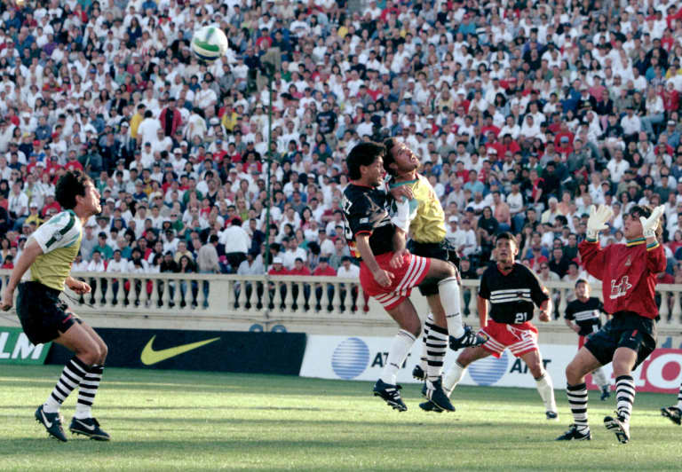 A sell-out crowd of 31,683 packed Spartan Stadium in San Jose, Calif., on April 6, 1996 to witness the first-ever MLS game between the San Jose Clash and D.C. United. The league was made up of 10 teams during its inaugural season, as the Clash and D.C. were joined by the Los Angeles Galaxy, Colorado Rapids, Dallas Burn, Columbus Crew, Kansas City Wizards, Tampa Bay Mutiny, NY/NJ MetroStars and New England Revolution.