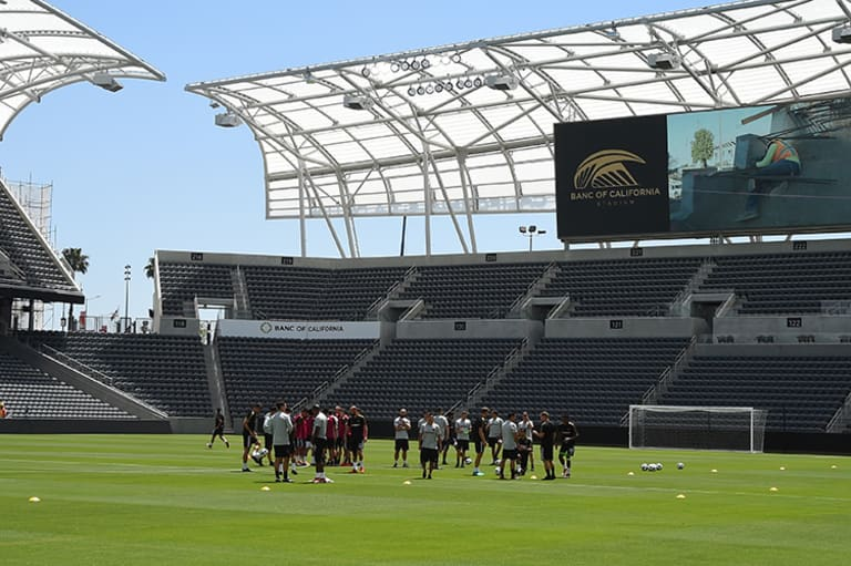 LAFC's Banc of California Stadium is officially open for business - https://league-mp7static.mlsdigital.net/images/BOC_teamtraining.jpg