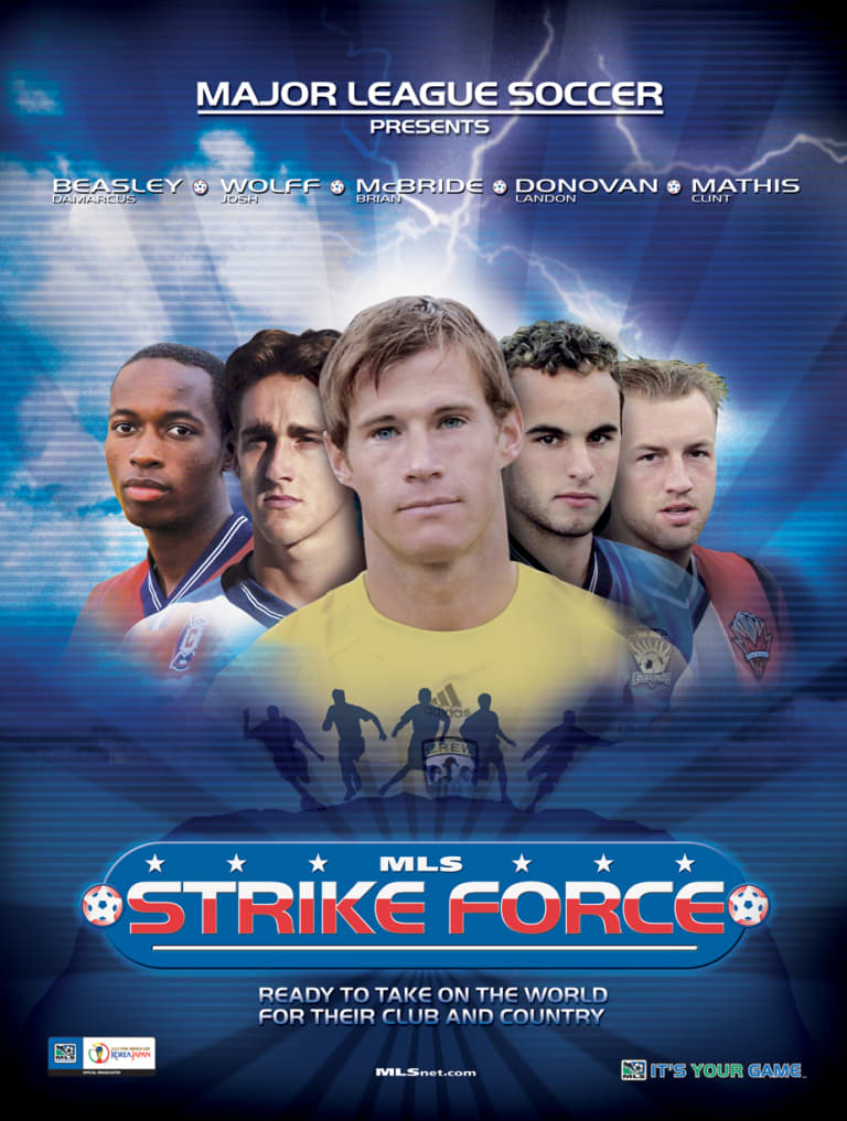 """MLS Strike Force"" poster"