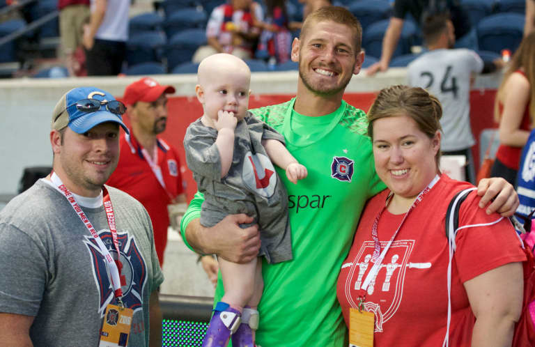 Cancer survivor Matt Lampson lives his dream – and gives back | THE WORD - https://league-mp7static.mlsdigital.net/images/Lampson-with-fam.jpg