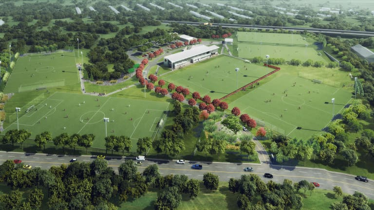 """Atlanta United vow new training facility to be """"equal to any in the world"""" - https://league-mp7static.mlsdigital.net/images/ATLUTD-training-facility-rendering-2.jpg"""