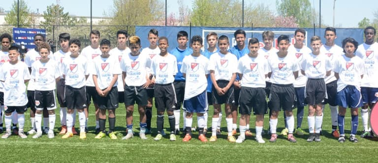 Six standouts advance to Sueño MLS finals from New York Red Bulls tryouts - Sueno MLS 2016 RBNY tryout finalists