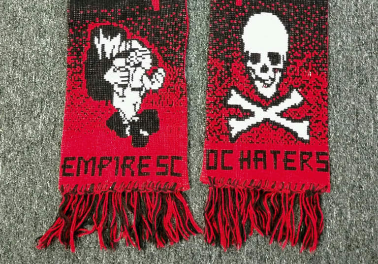 Scarftember: The early history of MLS supporters' scarves - https://league-mp7static.mlsdigital.net/images/ESChaterscarfCROP.jpg?null