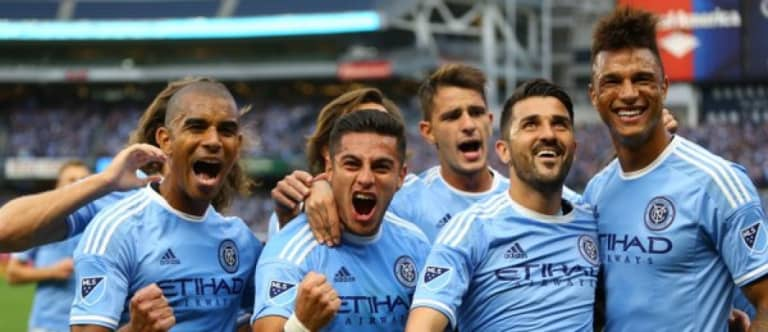 """Vieira, NYCFC """"really pleased"""" with TFC draw despite letting 2-0 lead slip -"""