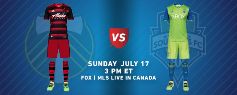 MLS team kits: Week 19 (July 15-17, 2016) - https://league-mp7static.mlsdigital.net/images/2016-07-17-POR-SEA-KITS.jpg