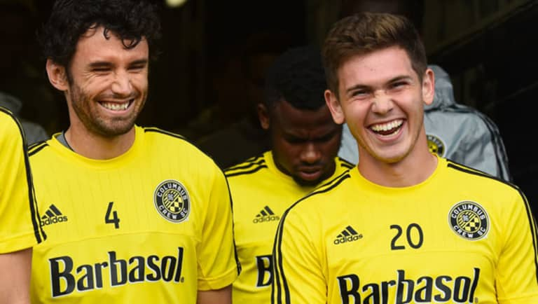 Columbus Crew SC's Wil Trapp opens up about long road back from concussion symptoms -