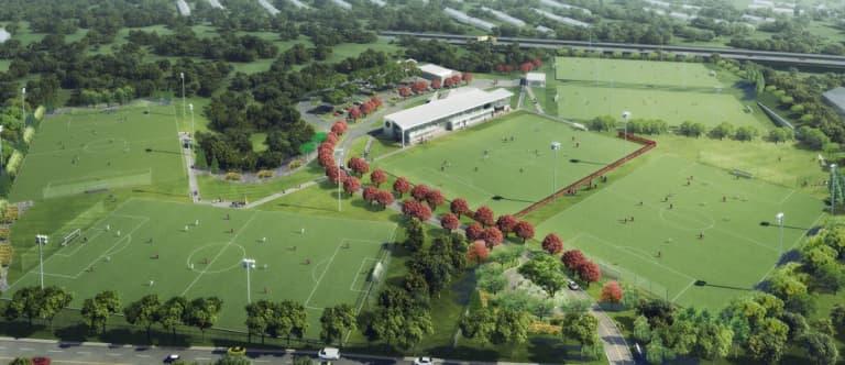 "Atlanta United unveil dazzling plans for ""best in MLS"" training complex -"