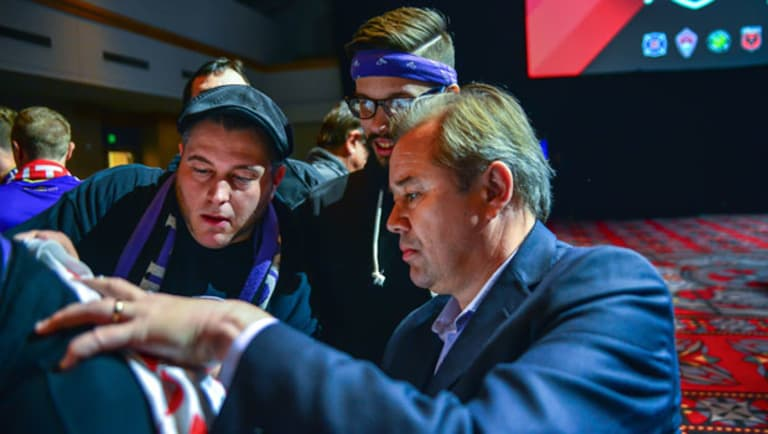 The Vault: Behind the Scenes at the 2015 MLS SuperDraft with Orlando City SC | THE WORD - //league-mp7static.mlsdigital.net/mp6/image_nodes/2015/01/heath-and-fans.jpg