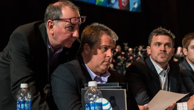 The Vault: Behind the Scenes at the 2015 MLS SuperDraft with Orlando City SC | THE WORD - https://league-mp7static.mlsdigital.net/mp6/image_nodes/2015/01/mcd-and-rawlins.jpg