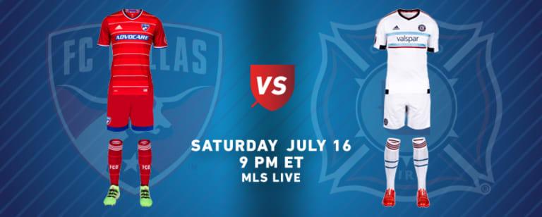 MLS team kits: Week 19 (July 15-17, 2016) - https://league-mp7static.mlsdigital.net/images/2016-07-16-DAL-CHI-KITS.jpg