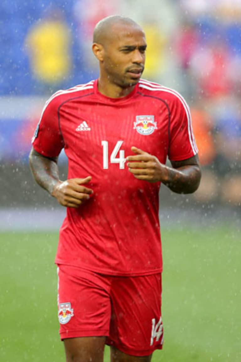 For Thierry Henry, MLS move came with welcome anonymity in New York City -