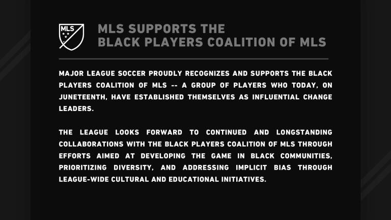 Black Players Coalition of MLS launches on Juneteenth - https://league-mp7static.mlsdigital.net/images/BPC%20MLS%2016x9%20(1).jpg