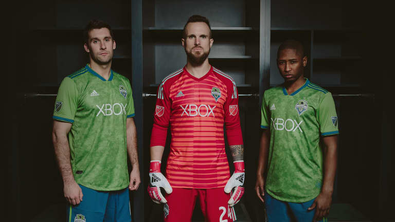 Seattle Sounders unveil new primary jersey for 2018 season - https://league-mp7static.mlsdigital.net/images/2018_JerseyReveal_Group001_Twitter.jpg