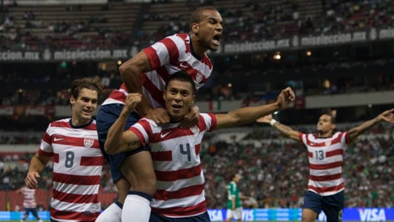 Who will step up to replace Geoff Cameron in the heart of the US defense? - https://league-mp7static.mlsdigital.net/styles/image_default/s3/mp6/image_nodes/2012/08/Us-celebrate-in-Mexico.jpg