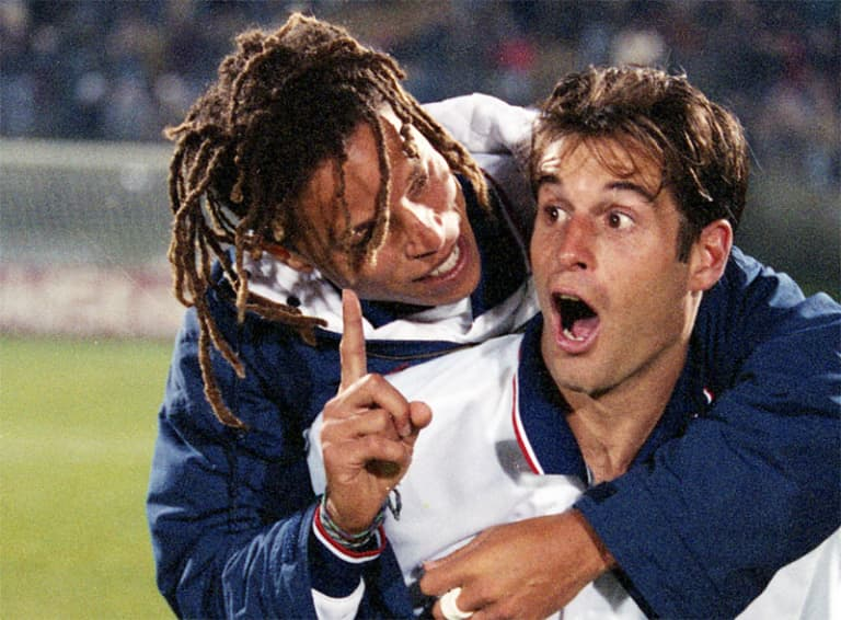 When the US shocked the world – and Argentina – at the 1995 Copa America -