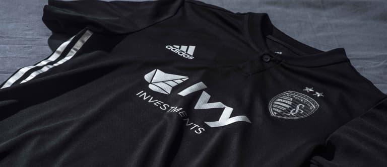 Sporting Kansas City unveil black and silver secondary kit for 2018 - https://league-mp7static.mlsdigital.net/images/SKCjersey18alt.jpg